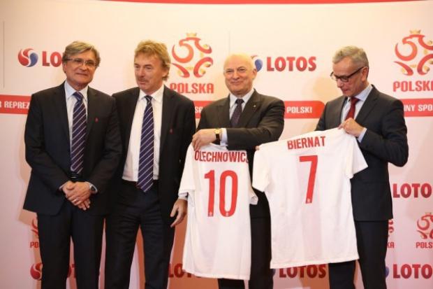 Lotos głównym sponsorem reprezentacji Polski
