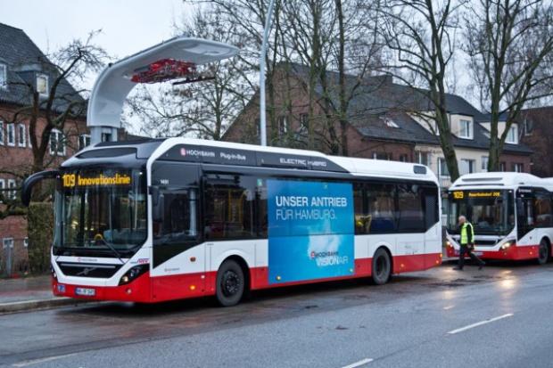 Volvo i Siemens podpisały umowę na dostawę systemów miejskich e-autobusów