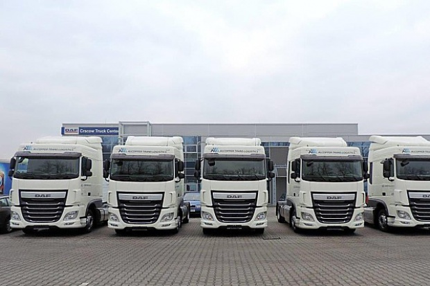 30 razy DAF dla Alcopper Trans Logistics