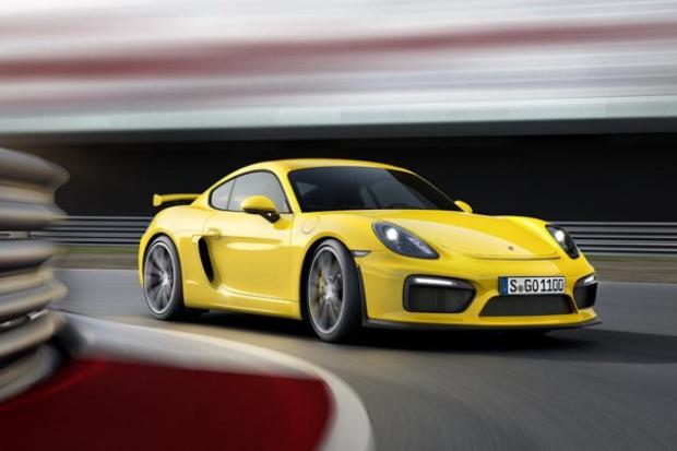 Porsche zapowiada ostrego Caymana GT4
