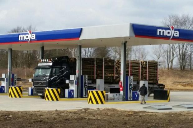 Kolejna stacja Moya tylko dla ciężarówek