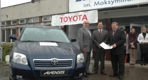 Toyota doceniona za wsparcie szkolnictwa zawodowego
