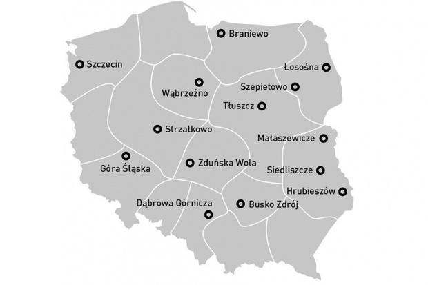 Rozwój firmy SUEK Polska w regionach