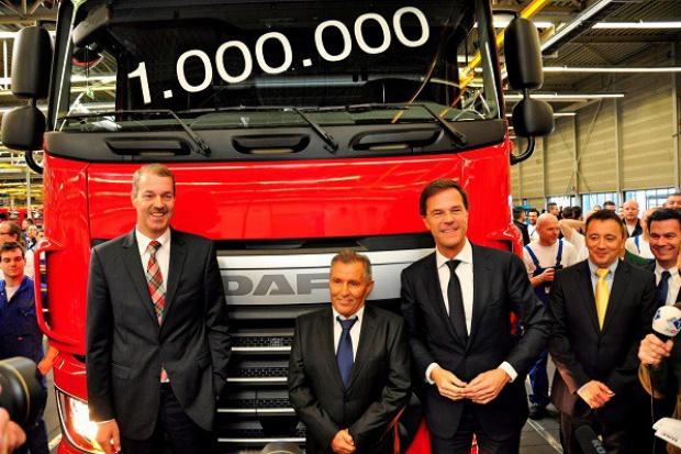 Milion ciężarówek DAF z Eindhoven