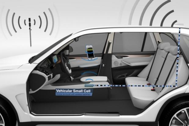 """BMW zaprezentowało """"Vehicular Small Cell"""""""