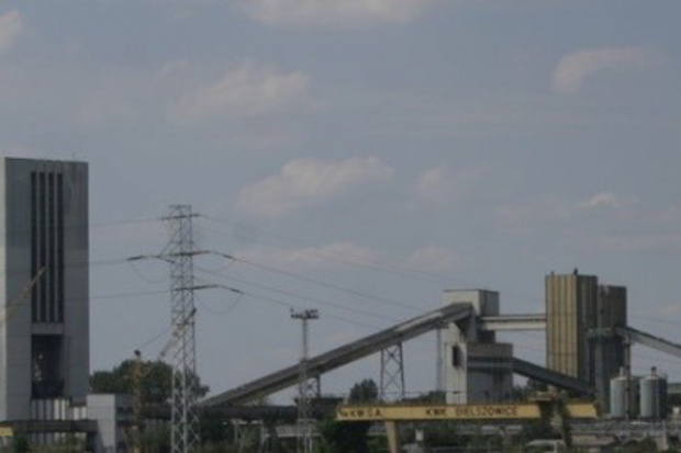 Pożar endogeniczny w kopalni Bielszowice w Rudzie Śląskiej