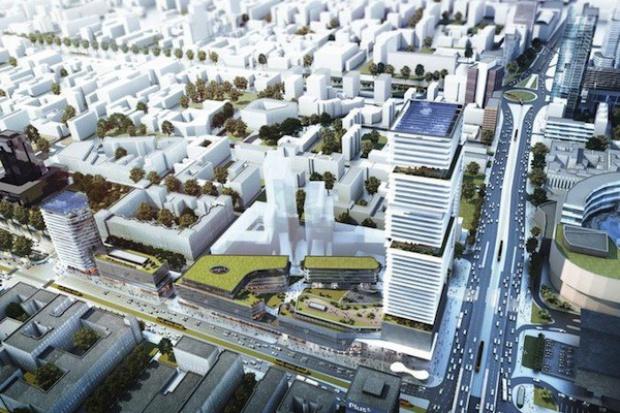 PKP planują budowę 200-metrowego wieżowca