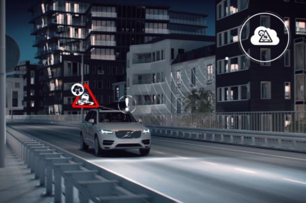 Komunikujące się Volvo na targach Mobile World Congress