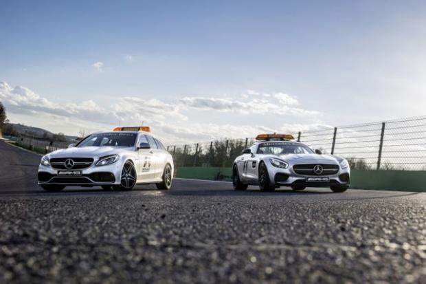 Mercedes-AMG dostarcza nowe wozy bezpieczeństwa i służb medycznych Formuły 1