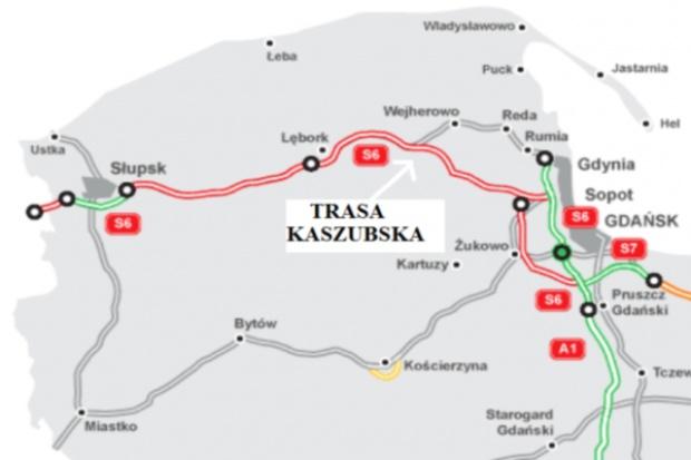 Powstanie Trasa Kaszubska - S6 z Lęborka do Trójmiasta