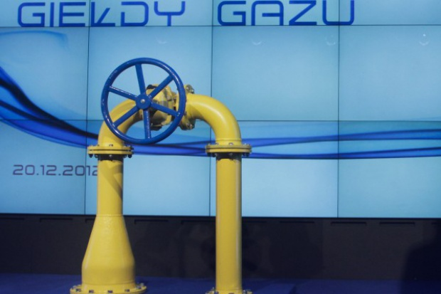 Coraz więcej gazu poprzez TGE