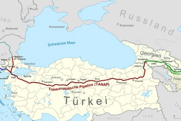 Turcja rozpoczęła budowę gazociągu TANAP