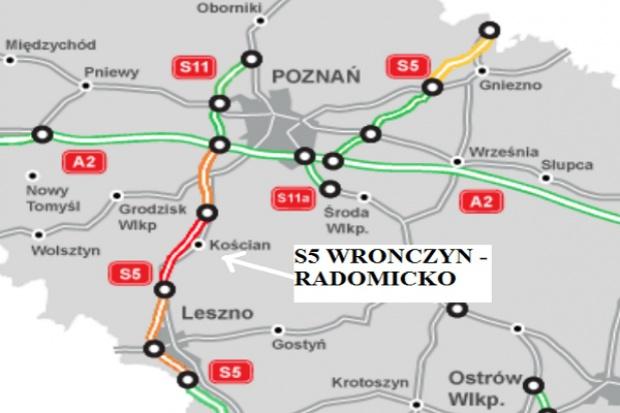 GDDKiA ogłosiła przetargi na budowę 35 km drogi S5