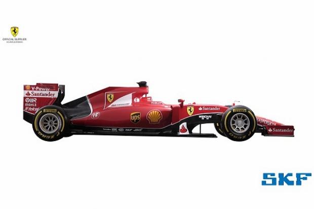 SKF z Ferrari w Formule 1