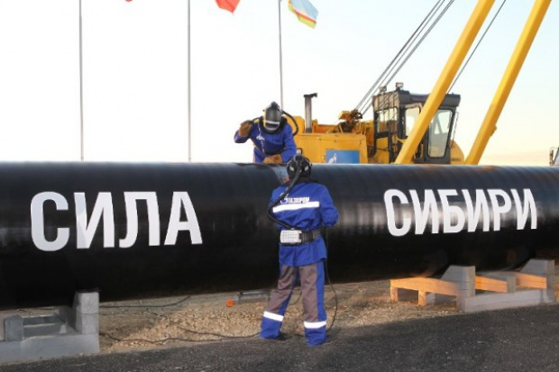 Rosja: 70-80 km gazociągu do Chin w tym roku