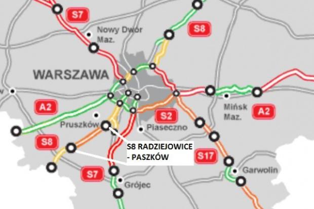 Przetarg na budowę S8 za 436 mln zł rozstrzygnięty