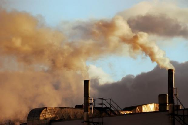Greenpeace: protest ws. zanieczyszczeń powietrza