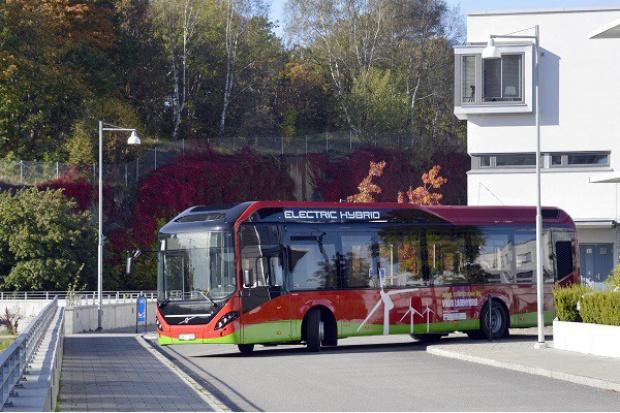 Linia hybrydowa Volvo w Sztokholmie
