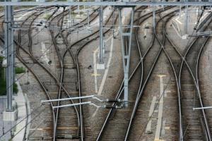 Herkules skrócił ustawianie wiaduktu na linii kolejowej E 30