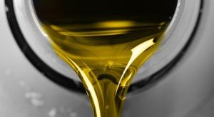 Szara strefa rozszerza sięna oleje smarowe