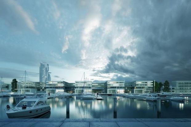 W Gdyni powstaną nowoczesne obiekty przy marinie