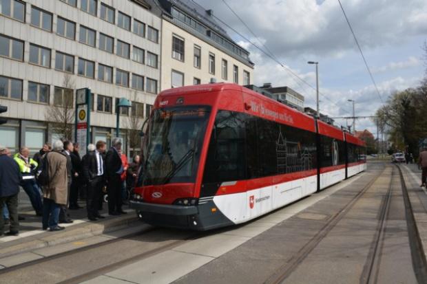 Tramino Braunschweig już na linii