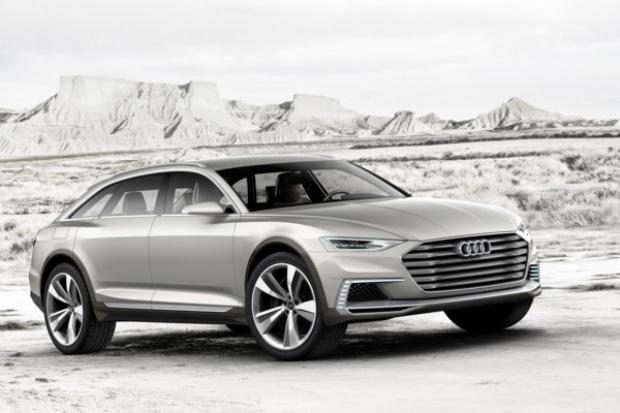 Studyjne Audi prologue allroad: nowy kierunek