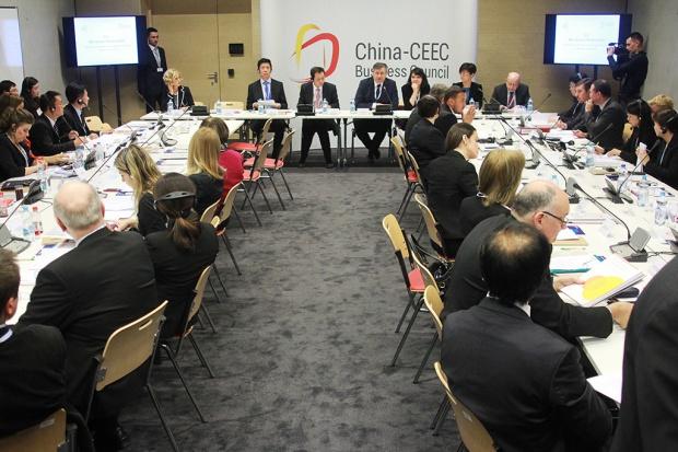 Spotkanie Rady Biznesu Chin oraz państw Europy Środkowo-Wschodniej