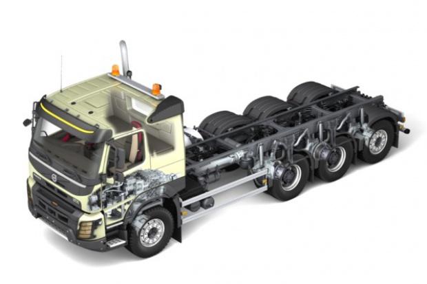 Volvo wprowadza w ciężarówkach potrójną oś Tridem