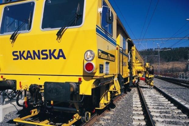 Skanska wygrała kolejowy przetarg na Górnym Śląsku