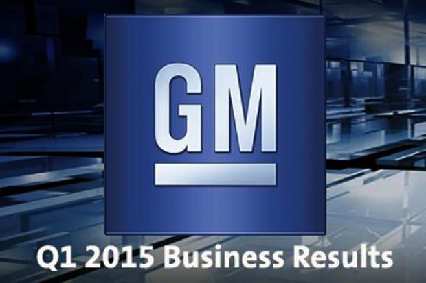 GM podsumowuje kwartał