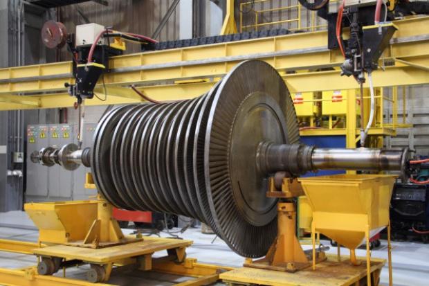 Nowy turbogenerator w TAMEH Polska