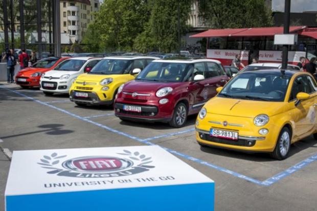 """""""FIAT Likes U"""" na Politechnice Wrocławskiej"""