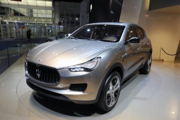 Nowy crossover Maserati