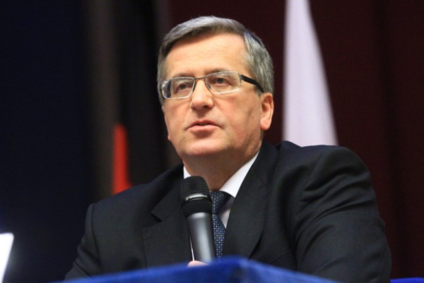 Bronisław Komorowski wręczył w Poznaniu nagrody gospodarcze