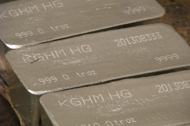 KGHM największym producentem srebra na świecie