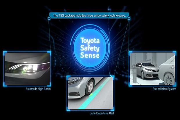 Toyota wprowadza nowy pakiet bezpieczeństwa