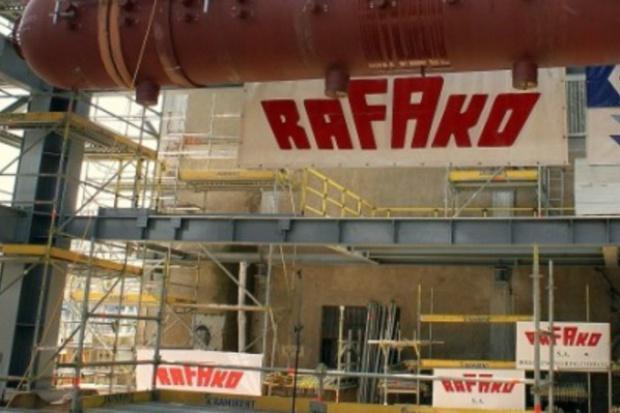 Ostra przecena akcji Rafako