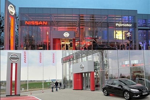 Dwa nowe salony Nissana