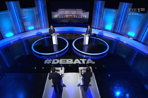 W debacie Komorowski-Duda: o górnictwie, polityce klimatycznej i gazoporcie