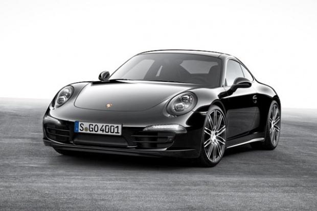 Czarna edycja Porsche