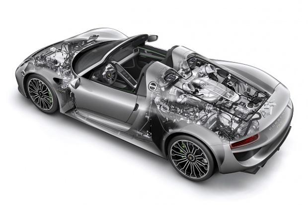 Sportowe hybrydy Porsche ze wsparciem Boscha