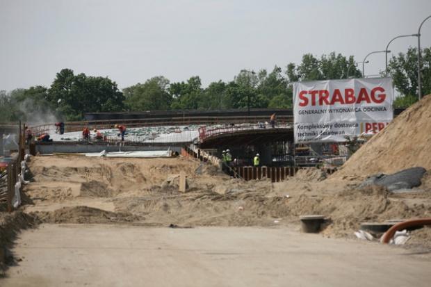 Strabag ma kontrakt na budowę trasy w Warszawie