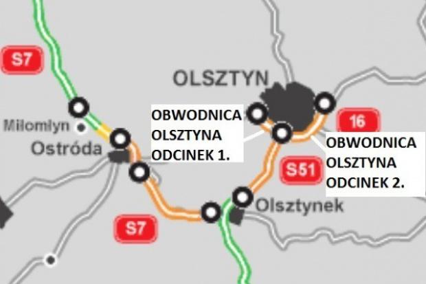 GDDKiA wybrała wykonawcę odcinka obwodnicy Olsztyna