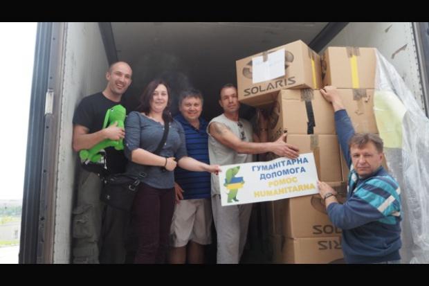 Solaris pomaga na Ukrainie