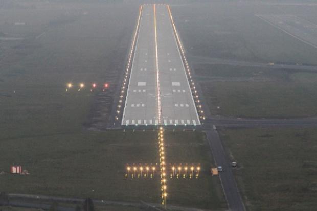 Na lotnisku Katowice oddano do użytku nową drogę startową