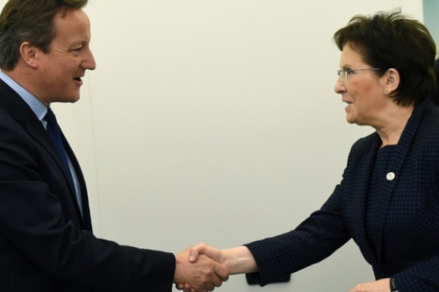 Kopacz z Cameronem m.in. o reformie UE