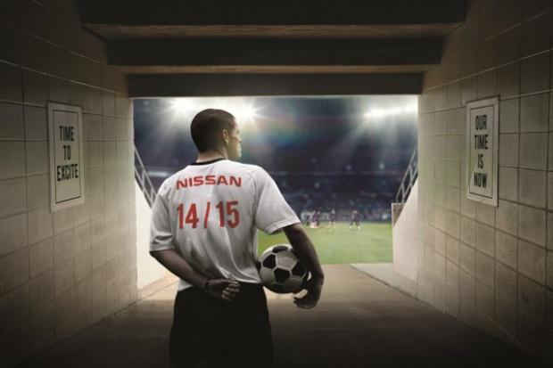 Nissan podczas finału Ligi Mistrzów