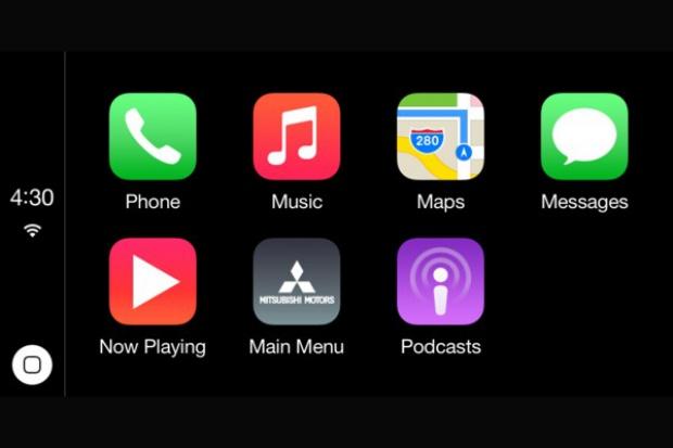 System Smartphone Link Display Audio w nowych Mitsubishi