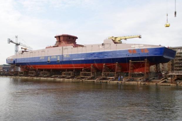 Remontowa Shipbuilding: położono stępkę promu dla armatora z Kanady